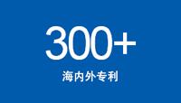 300+ 海内外专利