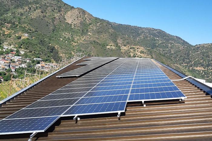 塞浦路斯屋顶项目