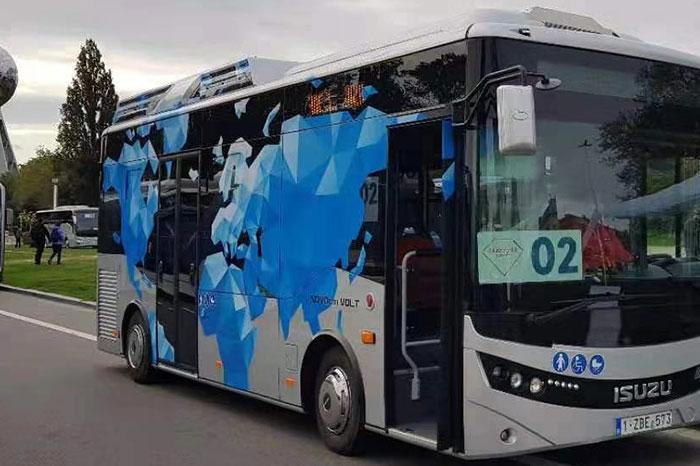 土耳其公交车项目