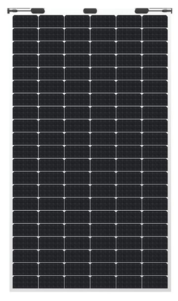 MWT柔性单晶硅高效光伏组件
